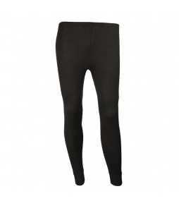 Sherpa Unisex Merino Wool Leggings-Black