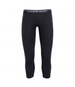 Icebreaker Oasis Mens Legless 3/4 Leggings-Black 1.