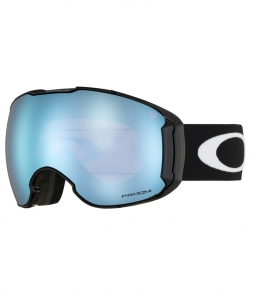Oakley Airbrake XL Matte Black w Prizm Sapphire Asian Fit