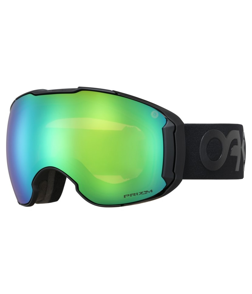 Oakley Airbrake XL Factory Pilot Blackout w Prizm Jade Asian Fit