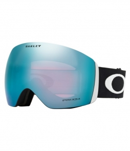 Oakley Flight Deck Matte Black w Prizm Sapphire w Asian Fit Available