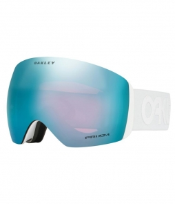 Oakley Flight Deck Factory Pilot Whiteout w Prizm Sapphire w Asian Fit Available