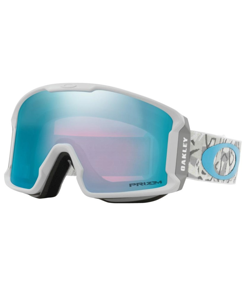 Oakley Line Miner XM Camo Vine Snow w Prizm Sapphire w Asian Fit Available