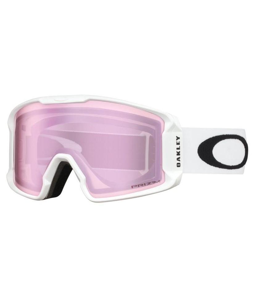 Oakley Line Miner XM Matte White w Prizm Hi Pink w Asian Fit Available
