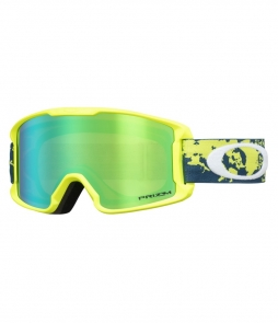Oakley Line Miner Youth Arctic Fracture Retina w Prizm Jade