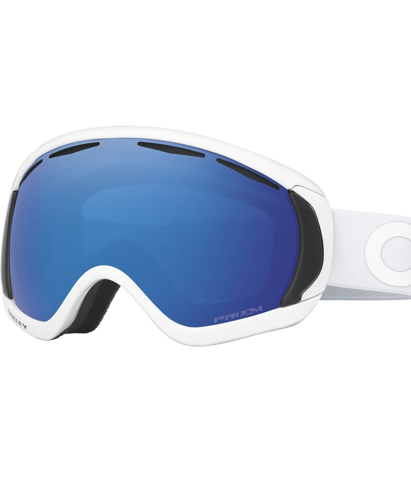 Oakley Canopy Factory Pilot Whiteout w Prizm Sapphire
