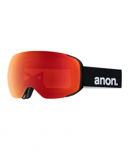 Anon M2 Black Sonar Red w/ Asian Fit Available