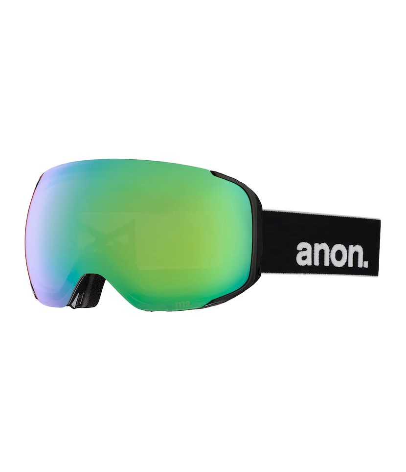 Anon M2 MFI Black w Sonar Green