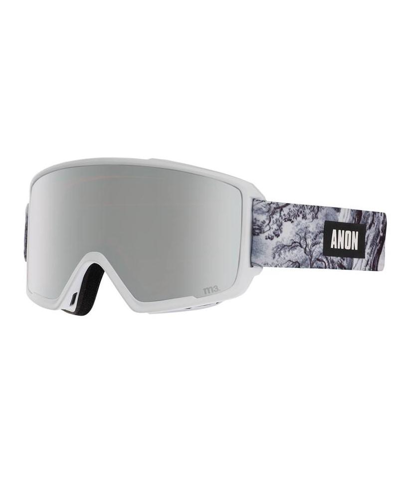 0f33f39f21f8 Anon M3 Loc Sonar Silver. Featured. Mens Goggles