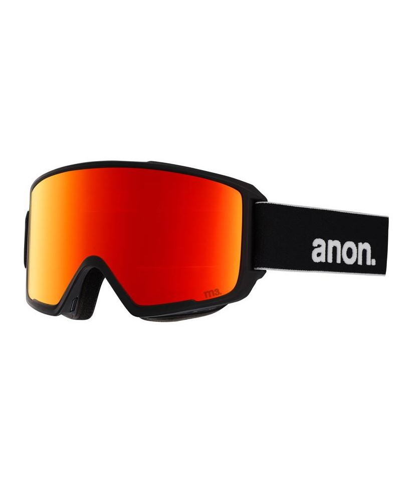 Anon M3 Black Sonar Red