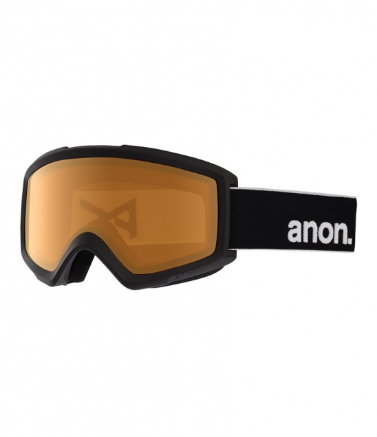 Anon Helix 2.0 Black w Amber w Asian Fit Available