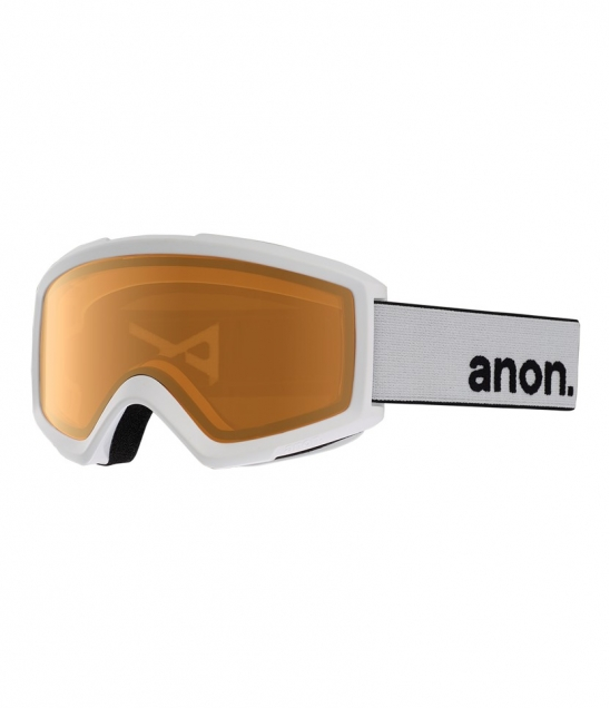 Anon Helix 2.0 AF White w Amber w Asian Fit Available