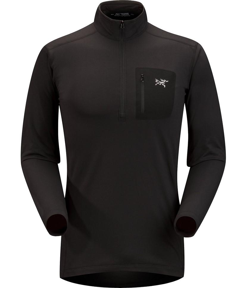 Arc'teryx Rho LT Zip Neck Mid-layer-Black