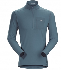 Arc'teryx Rho LT Zip Neck Mid-layer-Neptune
