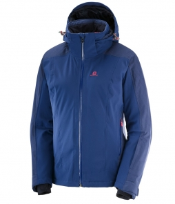 Salomon Brilliant Brilliant Jacket-Medieval Blue