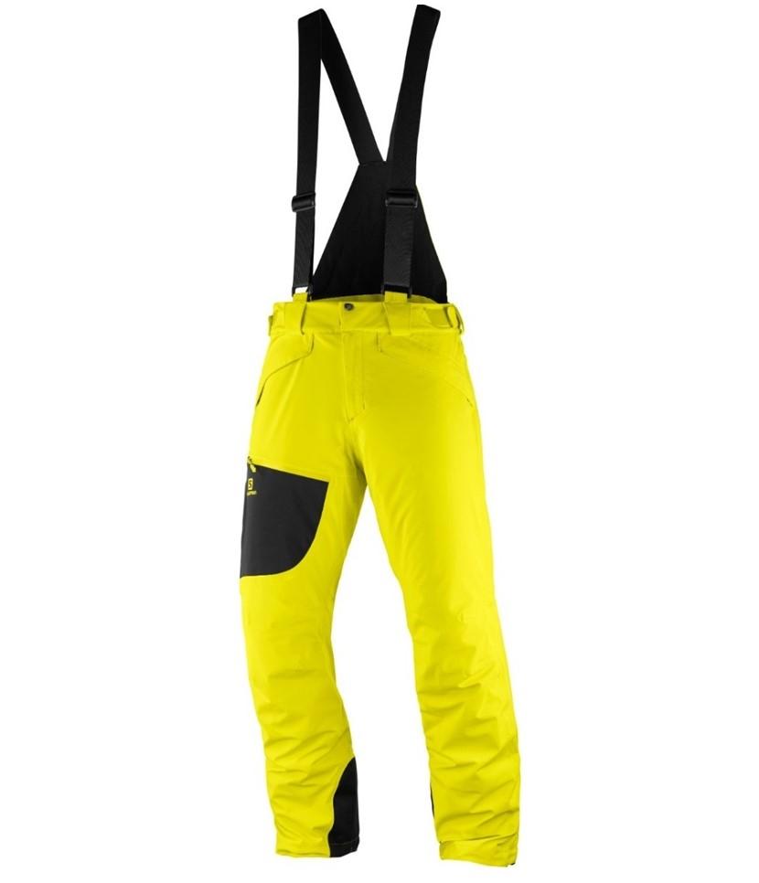 Salomon NEW Chill Out Bib Ski Pant-Sulphur Spring
