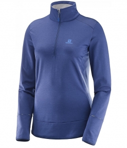 Salomon Discovery HZ MidLayer-Medieval Blue
