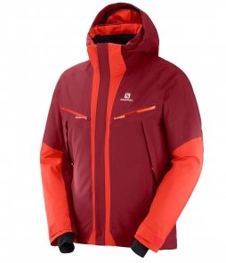Salomon Icecool Jacket-Biking Red