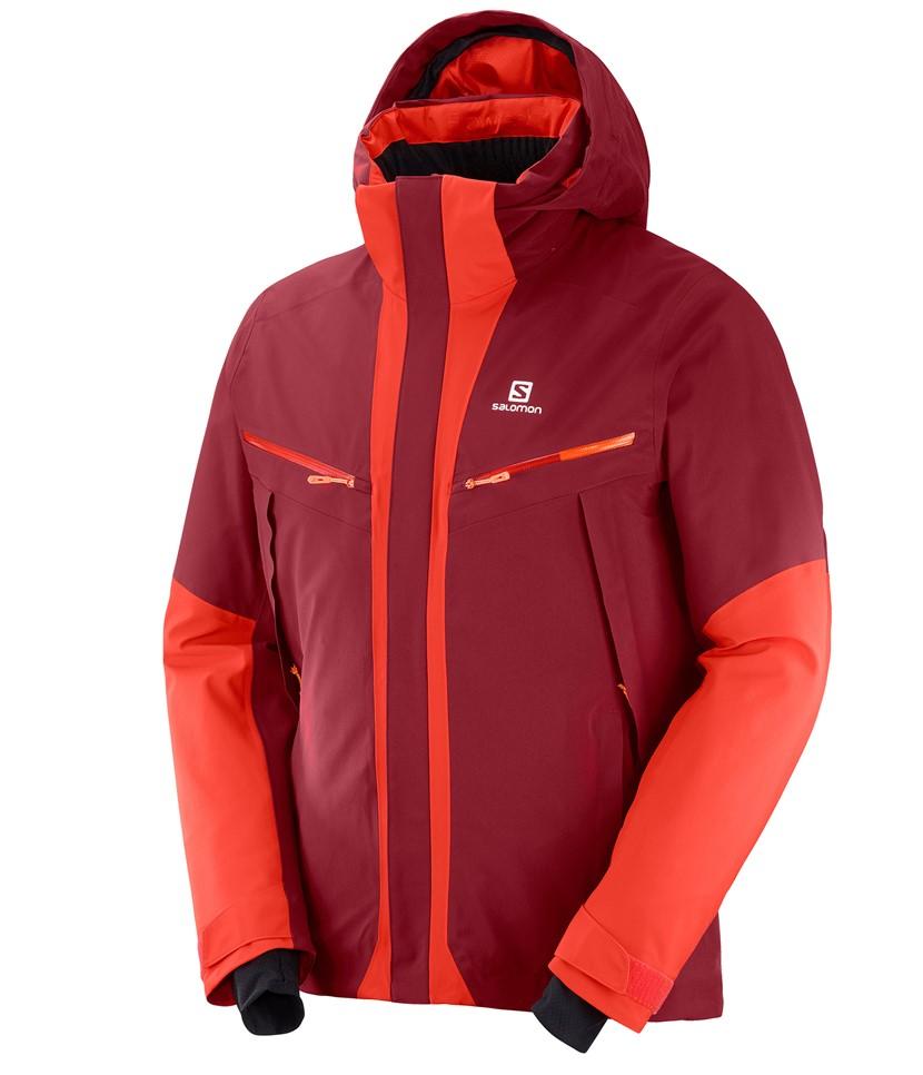 Salomon Icecool Jacket-Biking Red
