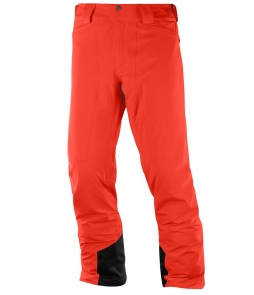 Salomon Men's Icemania Pant-Fiery Red