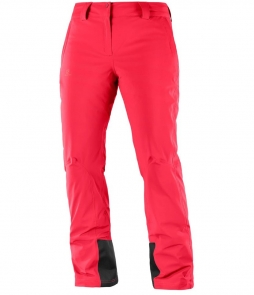 Salomon Ladies Icemania Pant-Hibiscus