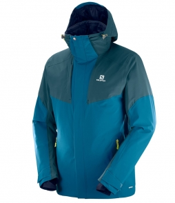Salomon Icerocket Jacket-Moroccan Blue