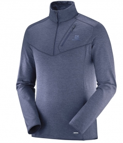 Salomon Discovery HZ Midlayer-Night Sky