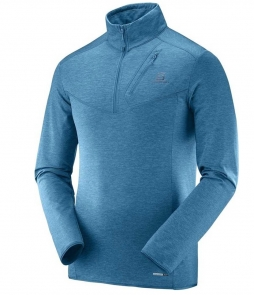 Salomon Discovery HZ Midlayer-Moroccan Blue