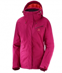Salomon Fantasy Jacket-Cerise Heather