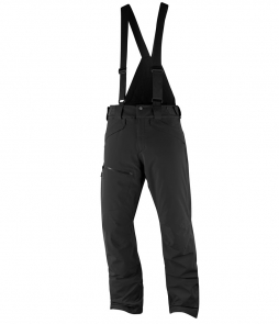 Salomon NEW Chill Out Bib Ski Pant-Black