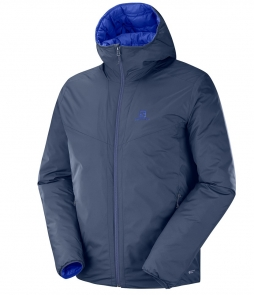 Salomon Drifter Loft Hoodie Jacket- Night Sky