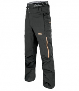 Picture Object Pants-Black