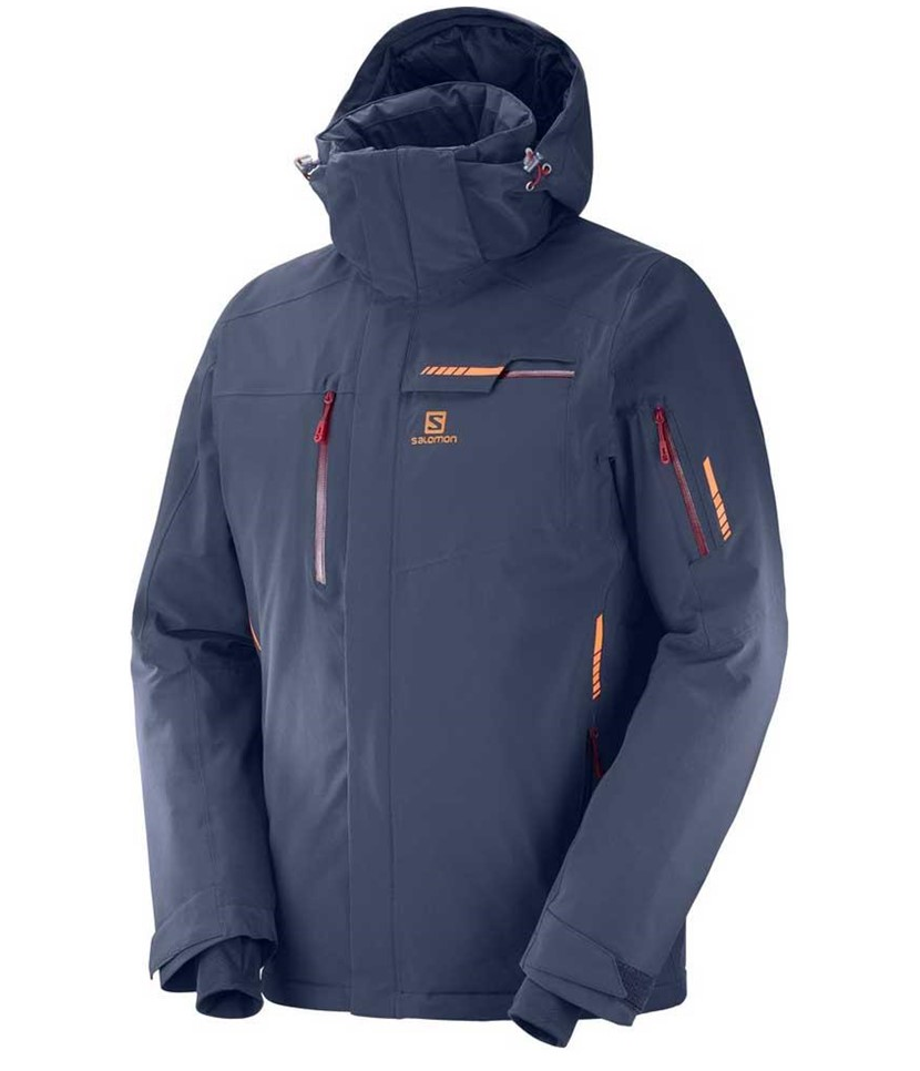 Salomon Brilliant Ski Jacket-Night Sky