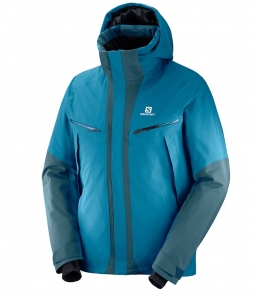 Salomon Icecool Jacket-Moroccan Blue