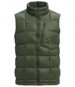 Burton AK Baker Down Insulator Vest-Forest Night