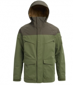 Burton Breach Jacket-Clover Forest Night