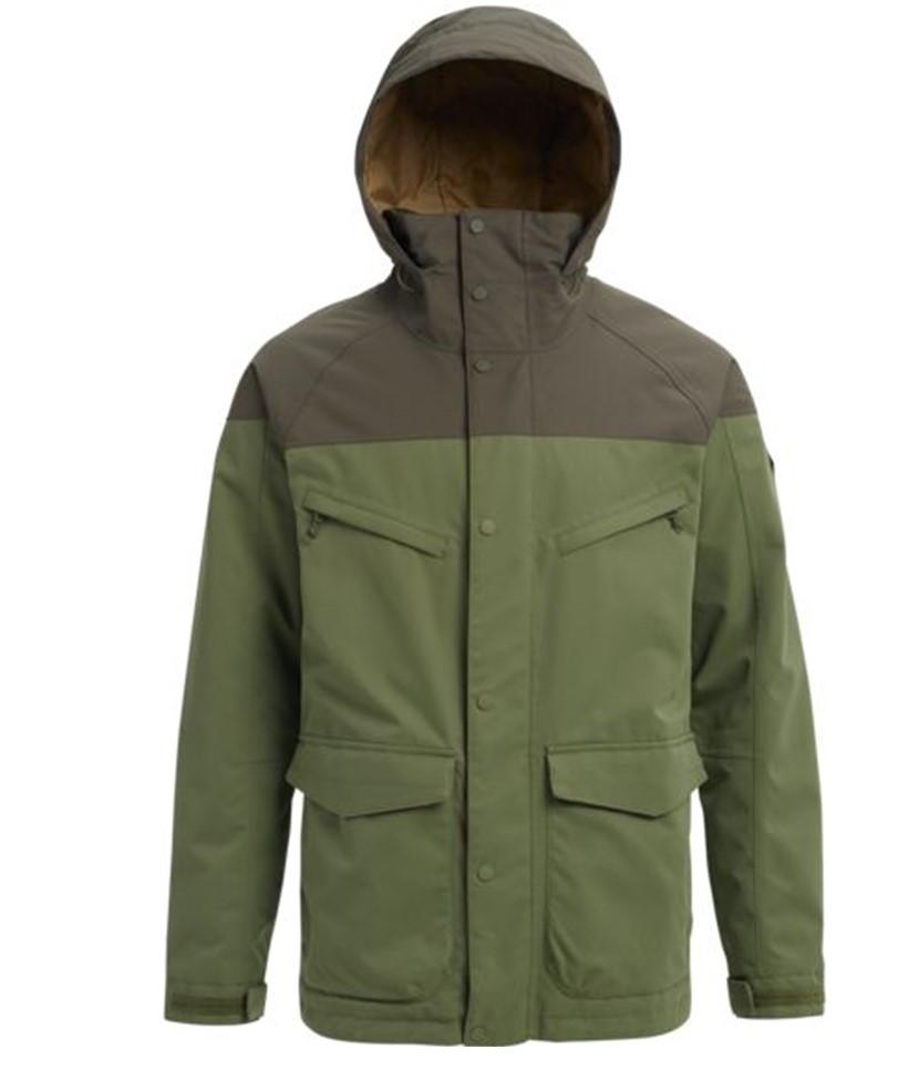 Burton Breach Jacket-Clover Forest Night