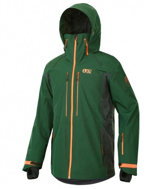 Picture Track Jacket-Dark Green