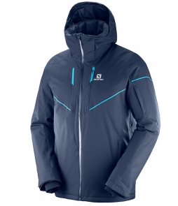 Salomon Stormrace Jacket-Night Sky