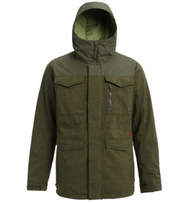 Burton Covert Jacket-Forest Night Heather