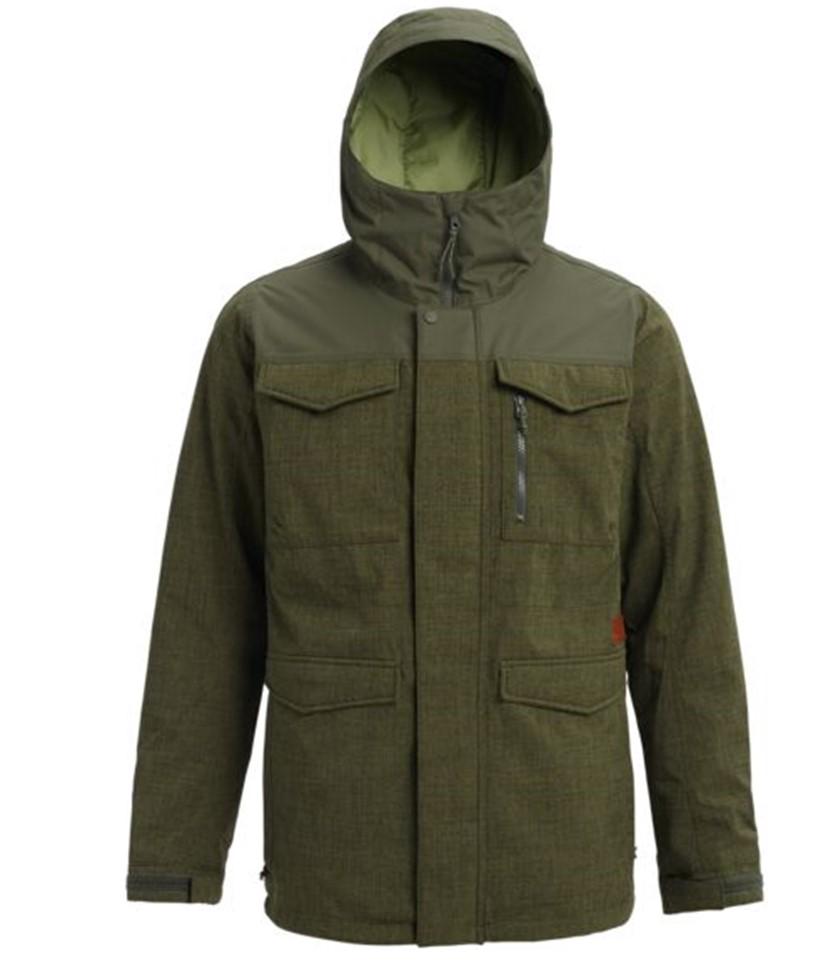Burton Covert Jacket-Forest Night Heather