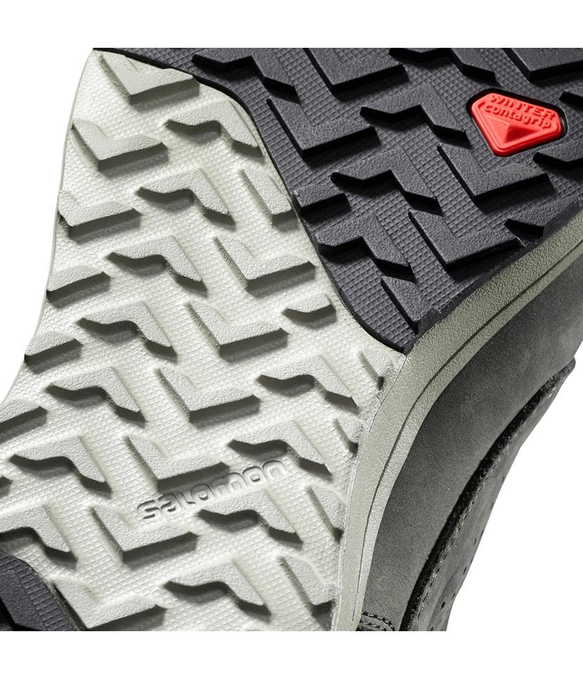 Salomon Utility Winter Aprés Shoes-Black 3.