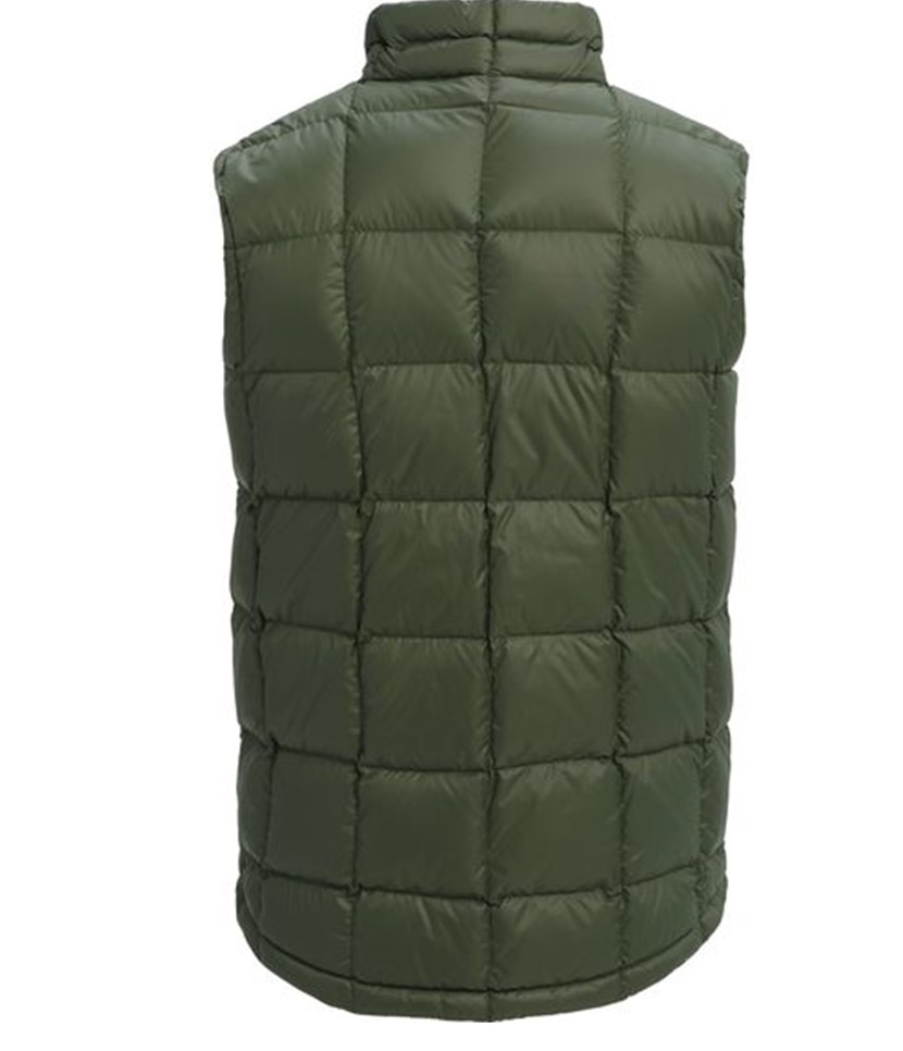 Burton AK Baker Down Insulator Vest-Forest Night 2.