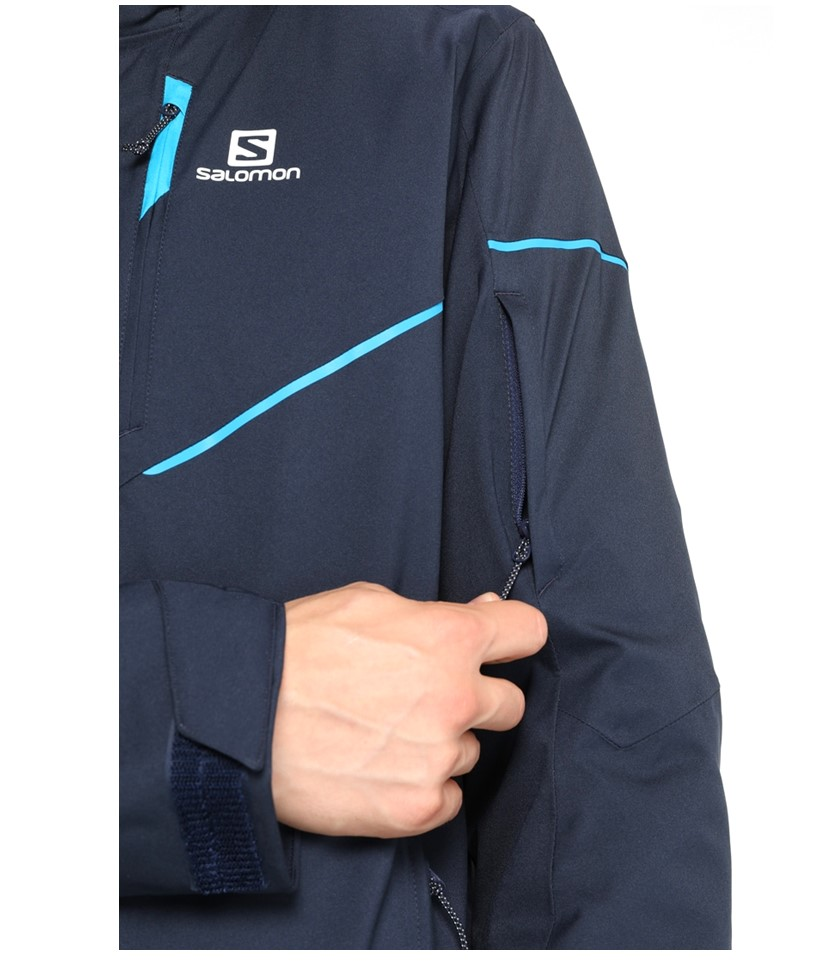 Salomon Stormrace Jacket-Night Sky 2.