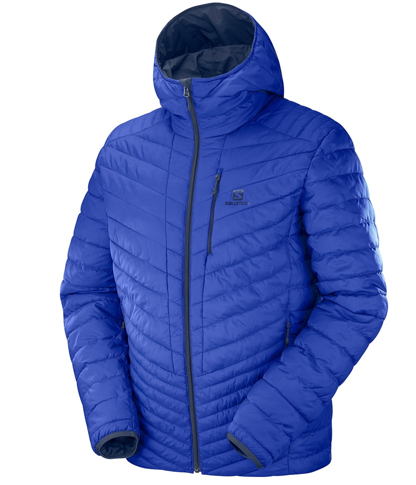 Salomon Drifter Loft Hoodie Jacket- Night Sky 3.