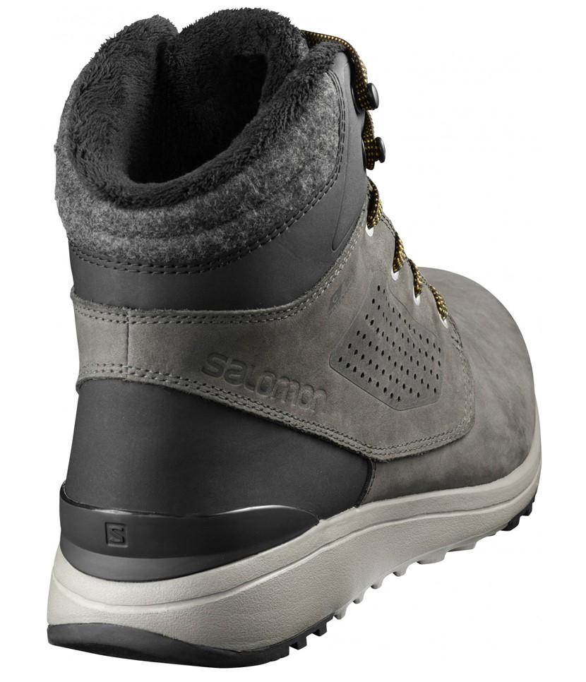 Salomon Utility Winter Aprés Shoes-Black 2.