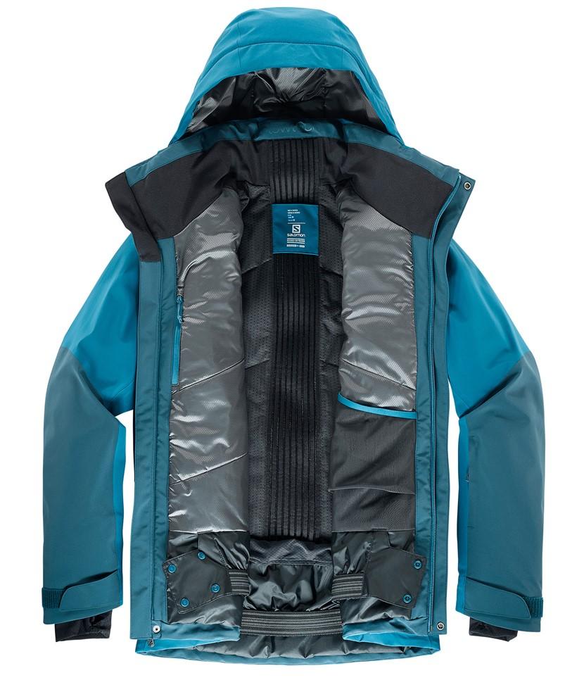 Salomon Icecool Jacket-Moroccan Blue 3.