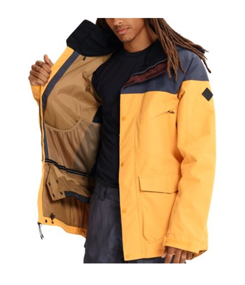 Burton Breach Jacket-Golden Rod 3.