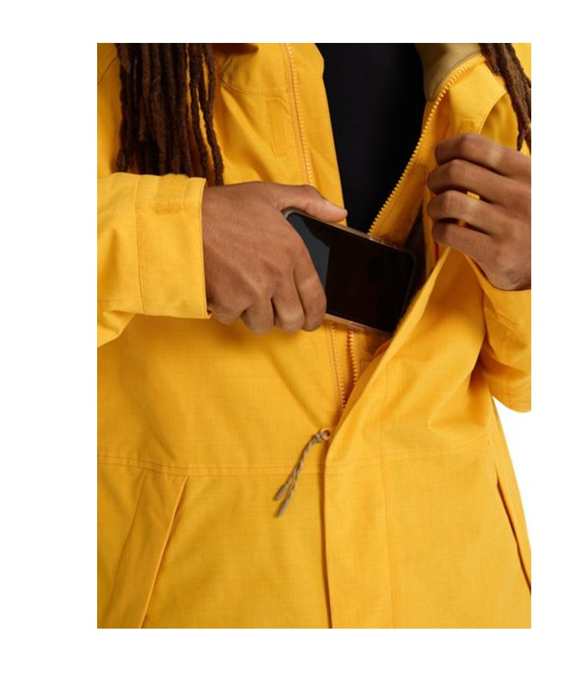 Burton Hilltop Jacket-Golden Rod 3.