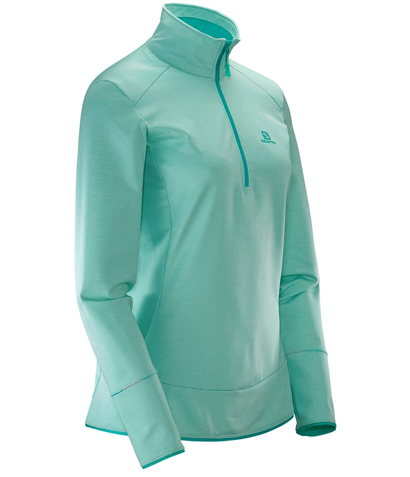 Salomon Discovery HZ Midlayer-Yucca Heather 3.